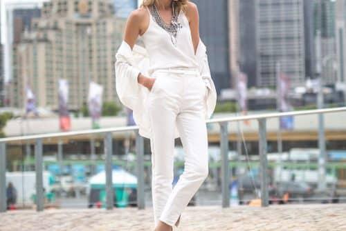 Quelle couleur avec un pantalon blanc ?