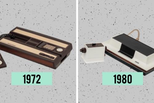 Les consoles de jeux dernières générations