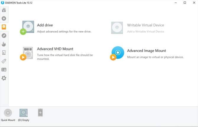 Comment supprimer un lecteur virtuel daemon tool ?
