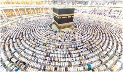 Pourquoi les musulmans font la prière en direction de La Mecque ?